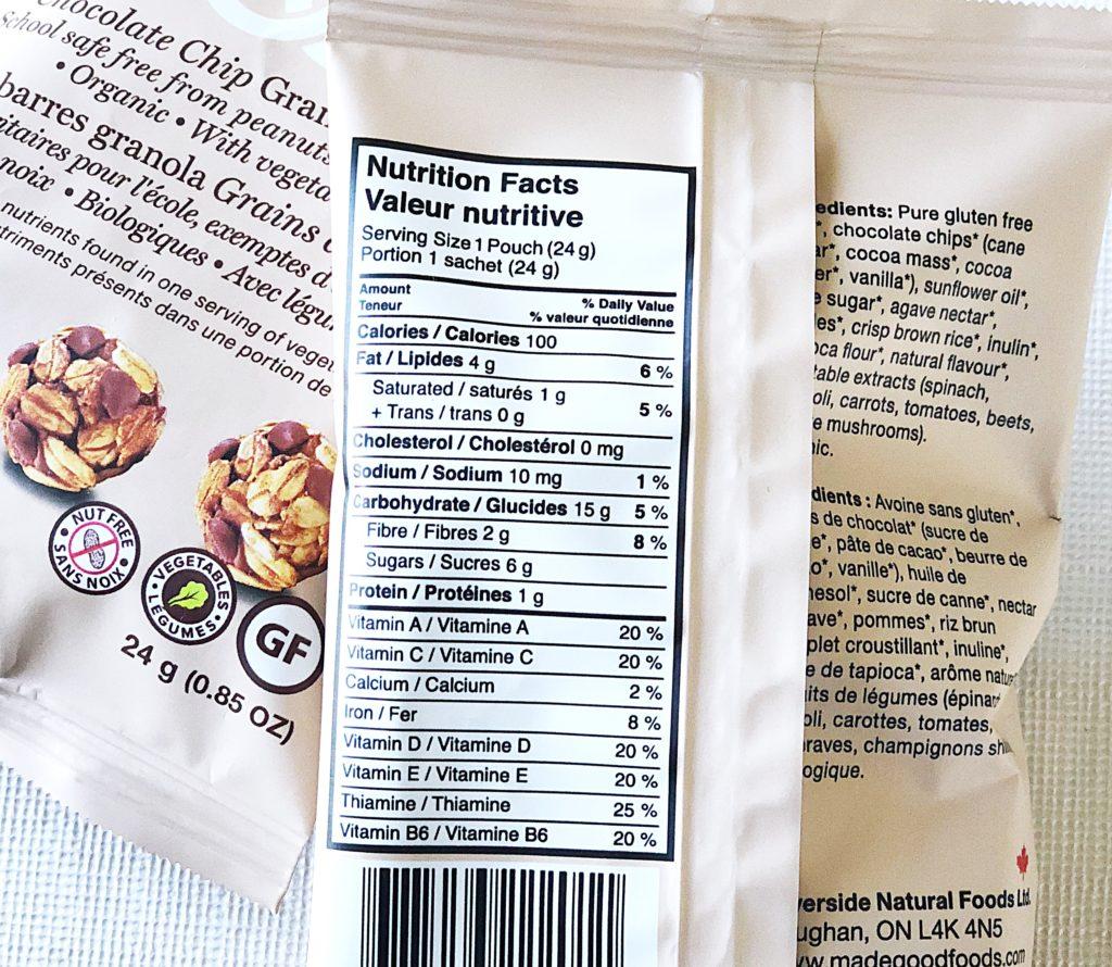 【カナダ】栄養成分表から何がわかるの?ヘルシーな選択をする習慣を身につけよう。