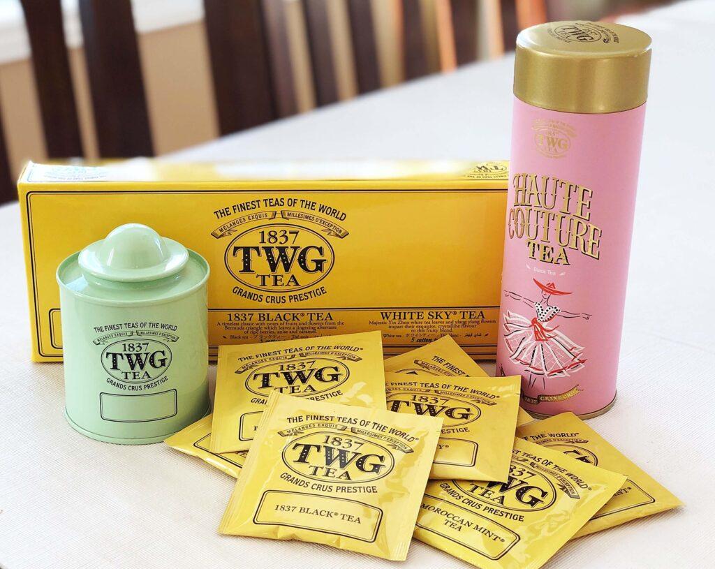 【TWG紅茶】日本では6店舗!ティーサロンの楽しみ方!